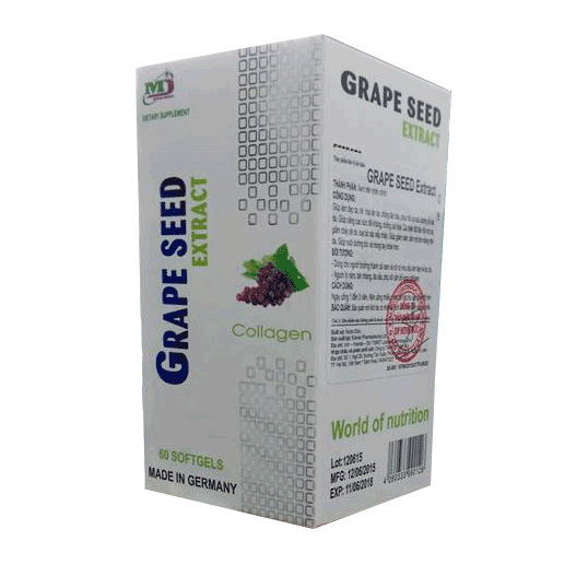 TPCN Grape Seed Extract 100 viên